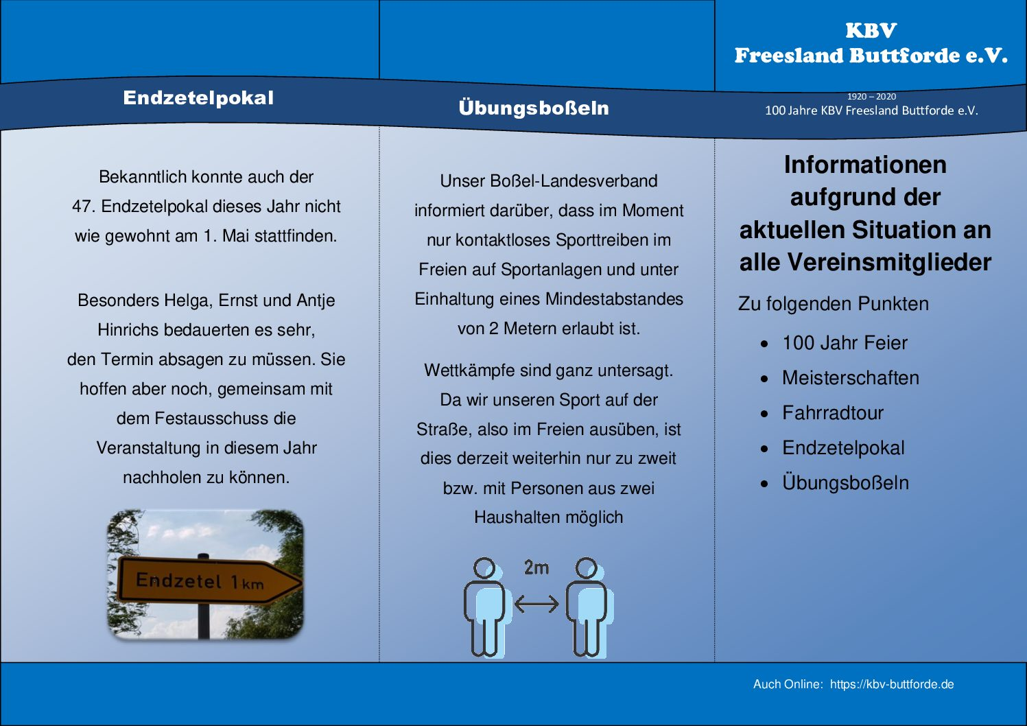 Informationsflyer